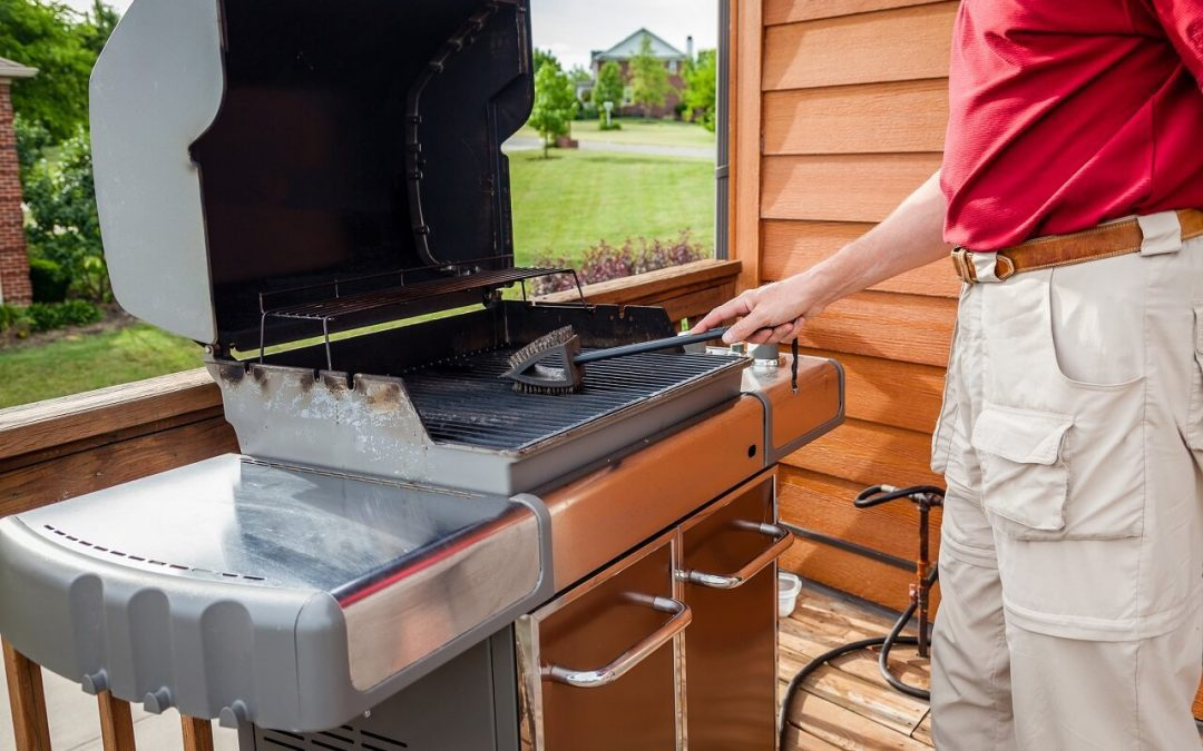 3 Steps to Clean Your Grill